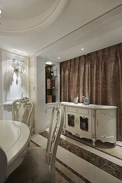 欧式新古典餐厅设计案例展示