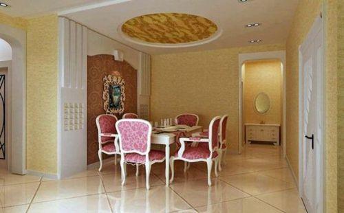 简欧简欧风格餐厅设计方案