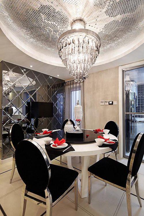 新古典美式精致后現代餐廳案例展示