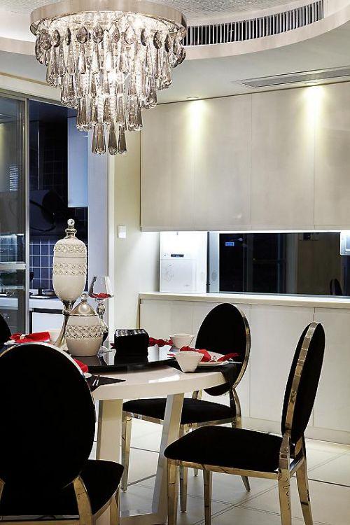 新古典美式精致后现代餐厅设计案例