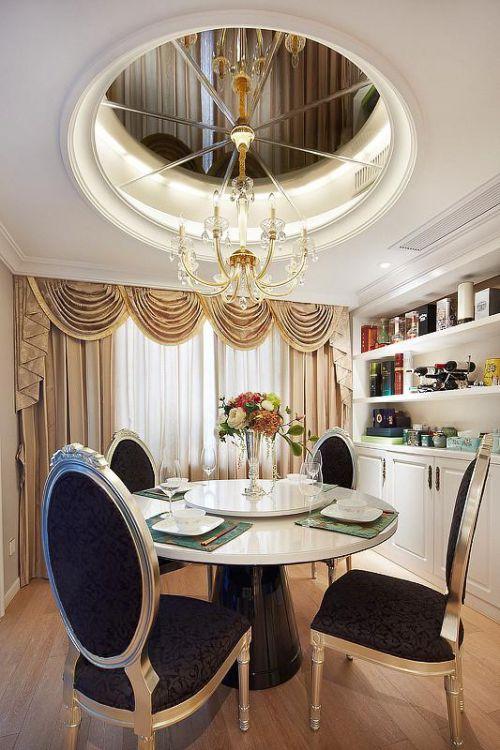 欧式新古典混搭餐厅图片