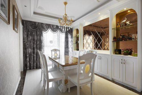 欧式新古典精致餐厅设计方案