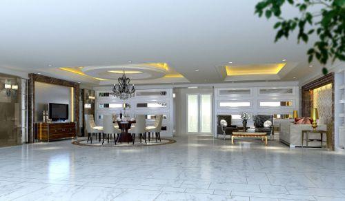 欧式简欧简欧风格餐厅别墅吊顶设计方案
