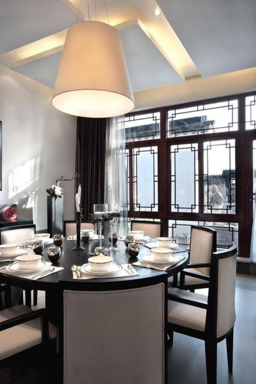 中式歐式簡歐餐廳設計案例展示