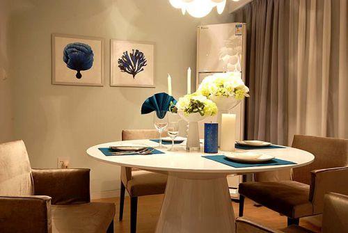 現代簡約簡歐餐廳設計案例展示
