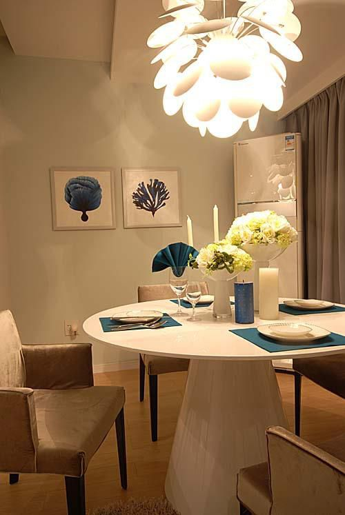 现代简约简欧餐厅设计方案