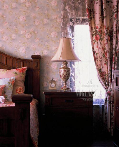 美式美式风格卧室装修案例