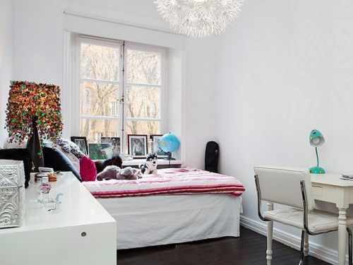 北欧卧室装修案例