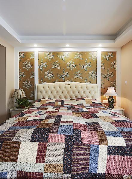 现代简约北欧卧室装修图