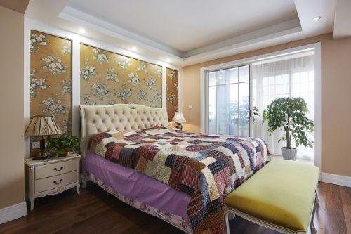 现代简约北欧卧室效果图