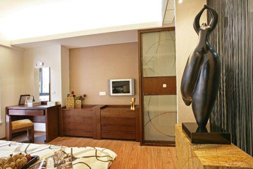 现代简约中式卧室设计案例展示