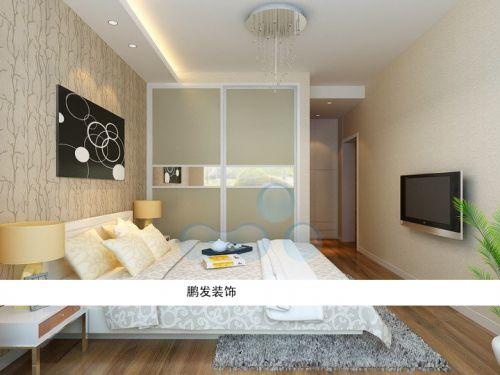 现代简约现代简约卧室装修案例