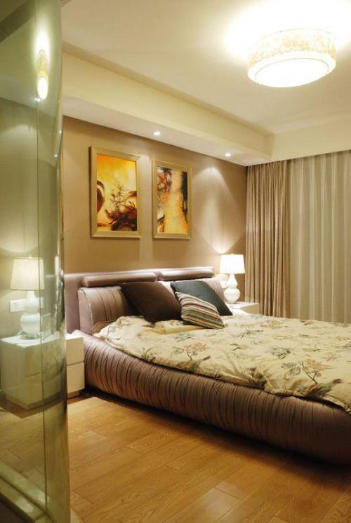 现代简约卧室装修效果展示