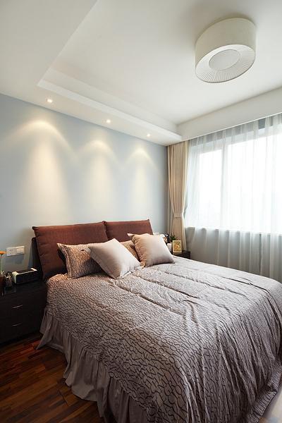 现代简约混搭卧室案例展示