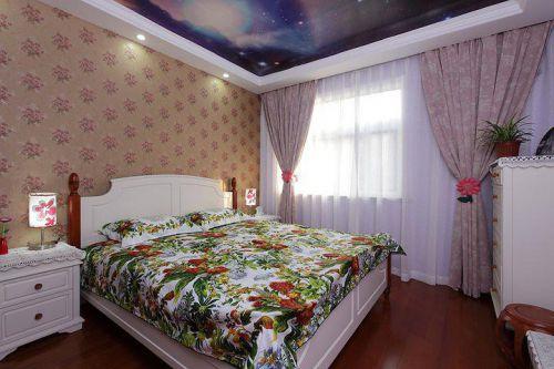 欧式田园卧室装修案例