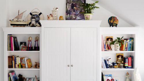 现代简约美式卧室装修案例
