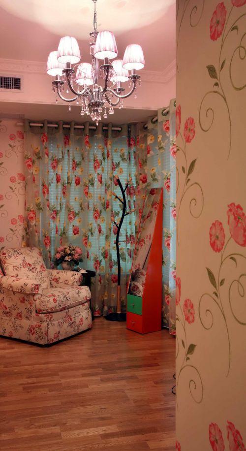 田园美式卧室效果图
