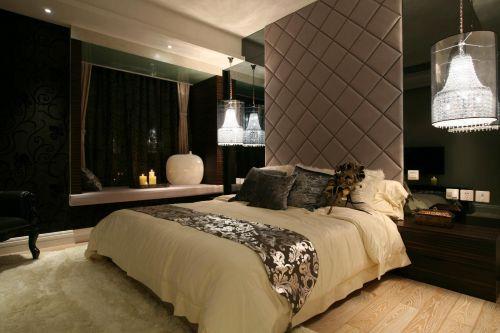 现代简约美式卧室设计案例展示