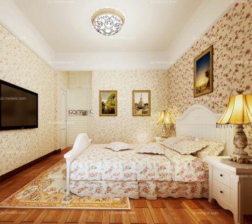田园韩式卧室装修图
