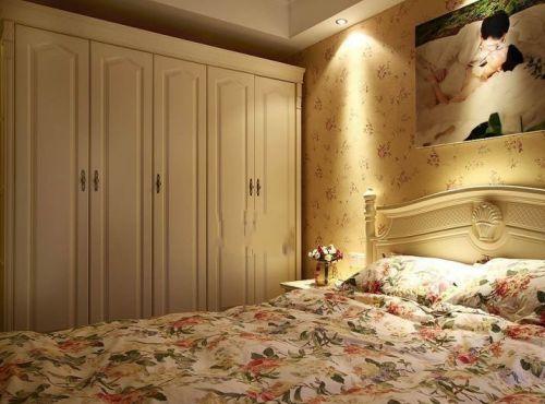 田园田园风格卧室衣柜卧室衣柜设计案例