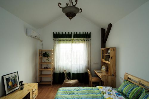 现代简约田园卧室设计方案