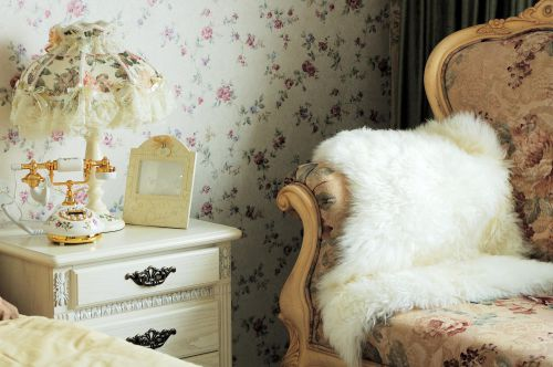 欧式田园卧室装修效果展示