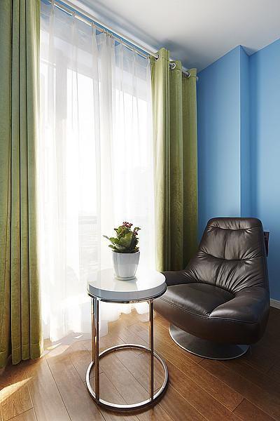 地中海美式清新卧室设计方案