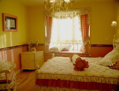 田园温馨卧室装修图