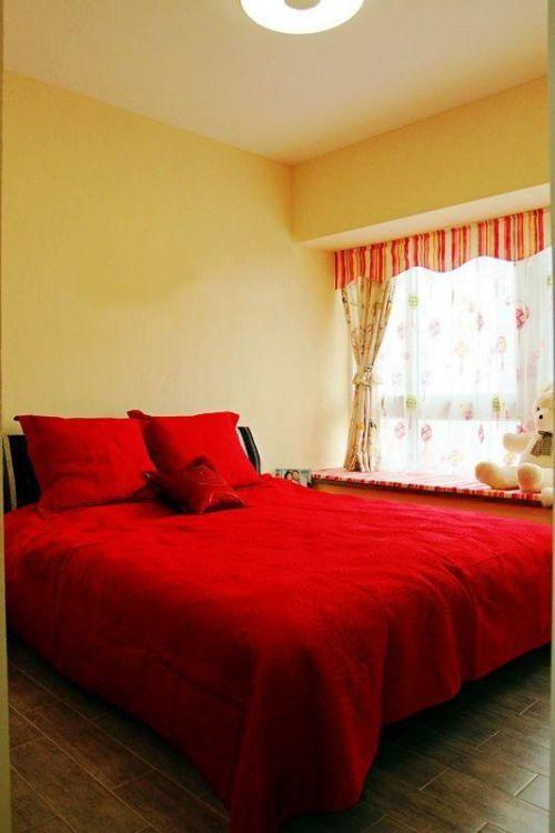 现代简约田园卧室设计案例展示