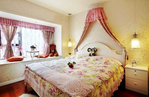 现代简约田园卧室图片