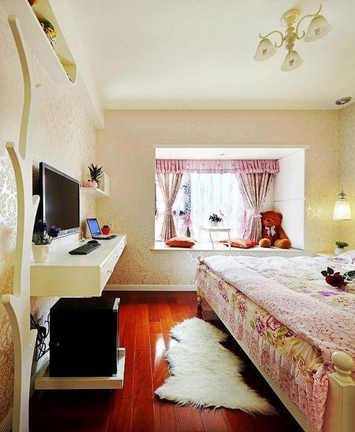 现代简约田园卧室案例展示