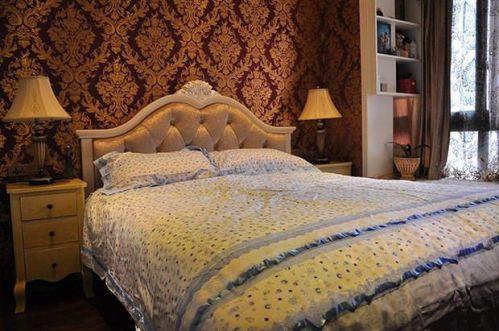 田园地中海新古典复古卧室设计案例