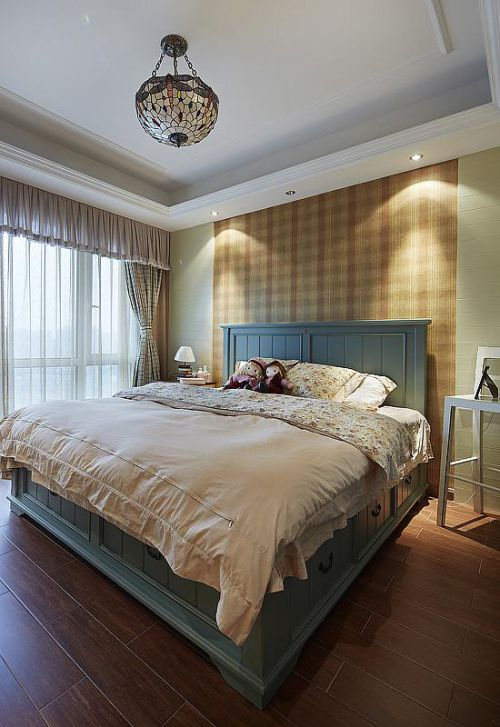 田园美式卧室设计案例
