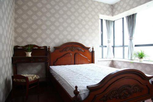 现代简约中式田园卧室图片