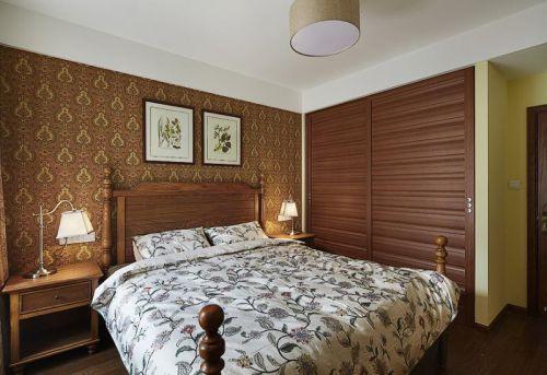 田园地中海美式卧室设计案例展示