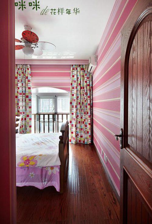 田园美式卧室装修案例