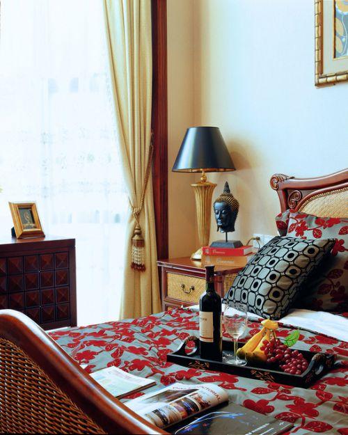 东南亚卧室装修效果展示