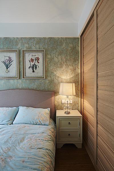 田园地中海美式卧室设计图