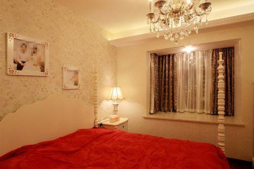 欧式田园日式卧室装修图