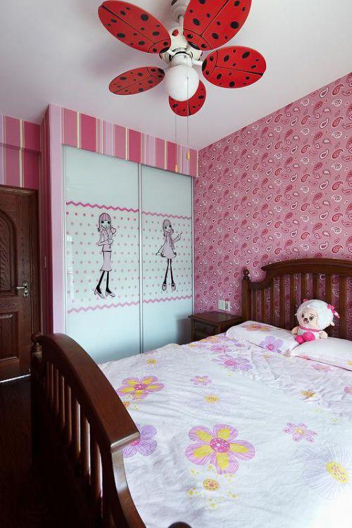 田园美式卧室设计图
