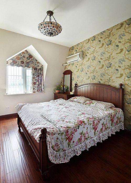 田园美式卧室设计案例展示