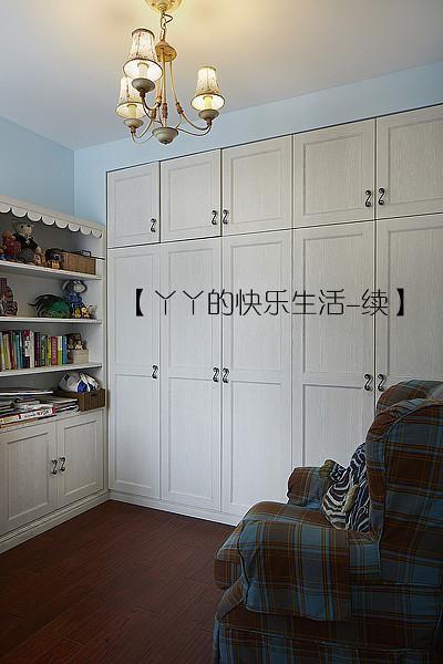 中式田园日式混搭复古卧室设计图
