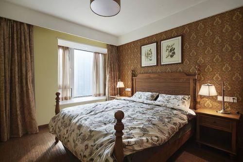 田园地中海美式卧室图片