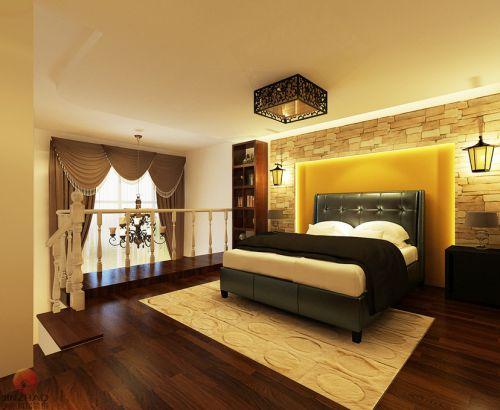 东南亚东南亚风格卧室装修效果展示