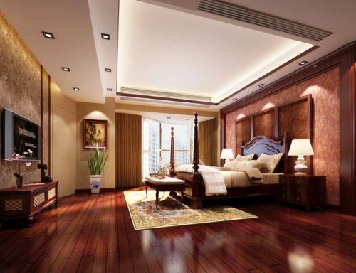 东南亚卧室设计方案