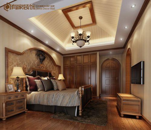 东南亚卧室别墅吊顶图片