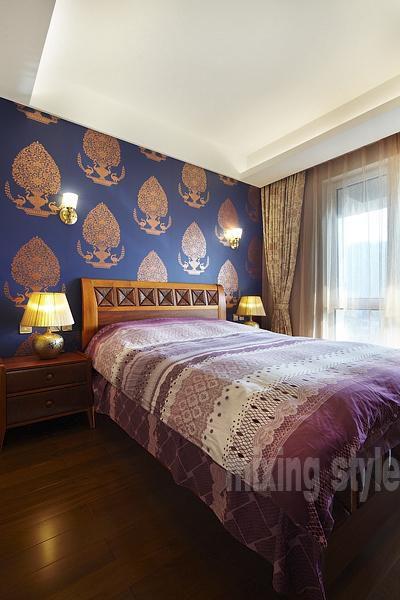 东南亚混搭卧室设计案例