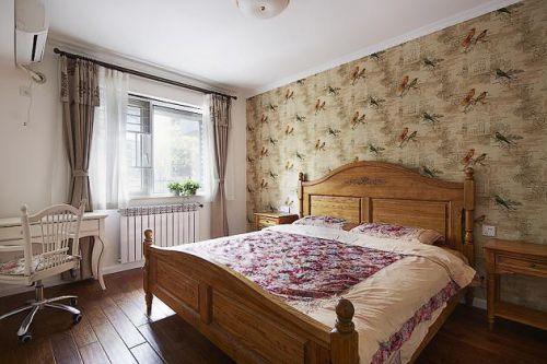 田园美式混搭卧室设计方案