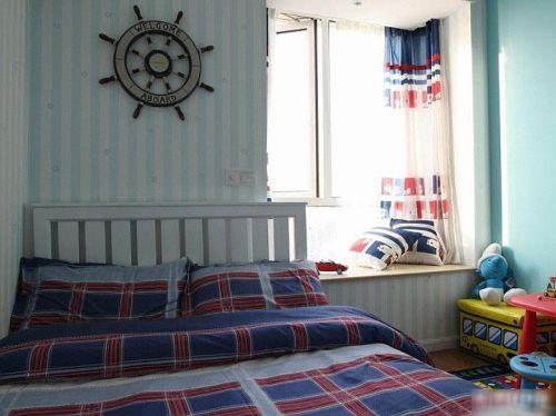 地中海卧室飘窗&落地窗案例展示