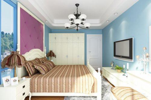 地中海卧室吊顶设计案例展示